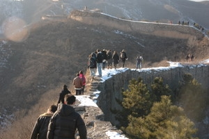 Hiking the Great Wall 6