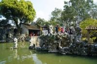 Lion Grove Garden, Lion Grove Garden Guide, Lion Grove Garden Travel Tips, Blue Wave Pavilion Travel Information.